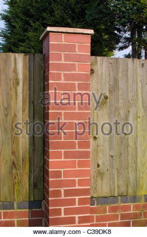 garden wall bond brickwork garden wall bond brickwork stock photo
