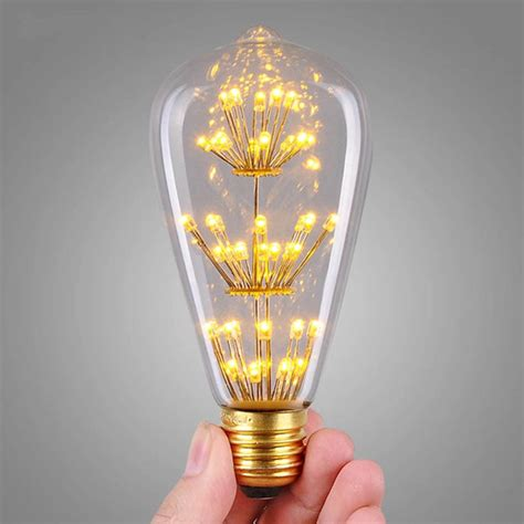 led light bulbs e27 e27 st64 3w led bulb retro vintage style edison light l