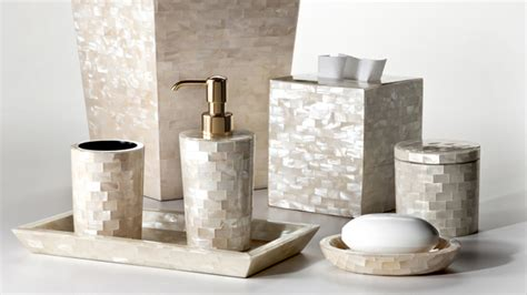 luxury bathroom accessories 15 luxury bathroom accessories set home design lover