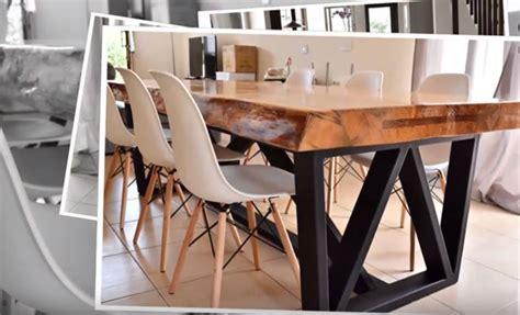 tutoriel une table pi 232 tement m 233 tal et plateau bois