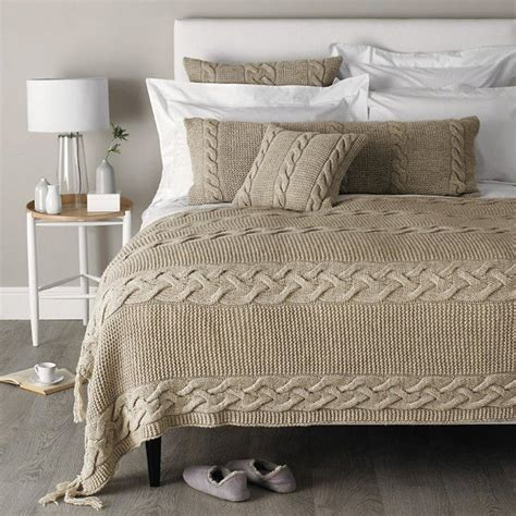 cable knit bedding king westbourne cable knit throw cable knit blankets warm