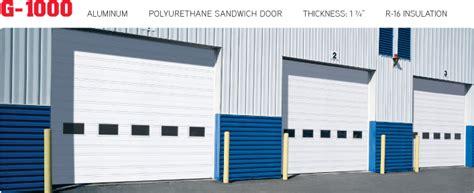 G And G Garage Doors G 1000 Commercial Garage Door Manufacturer Garaga