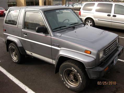 1990 Daihatsu Rocky by Parked Cars 1990 Daihatsu Rocky Sx
