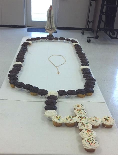 edible rosary we made an edible rosary idea from the and rosary