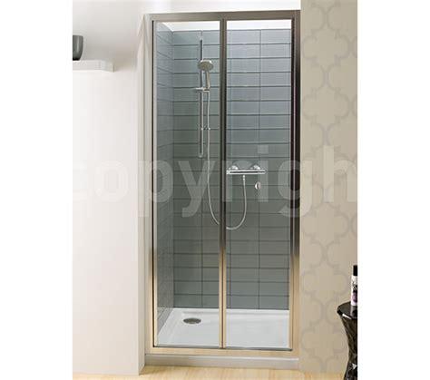 bi fold shower door 800mm simpsons edge bi fold shower door 800mm