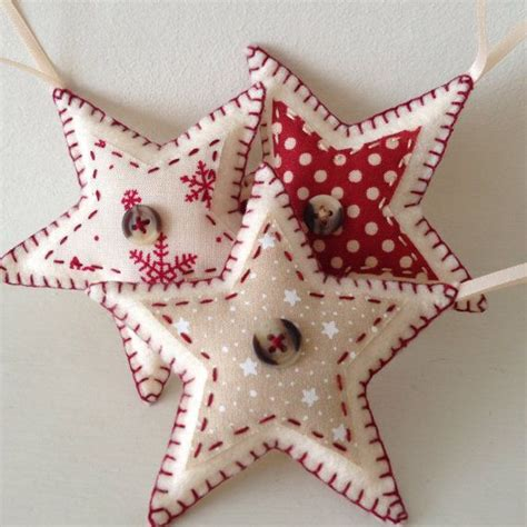 fabric decorations 228 best ornaments fabric images on