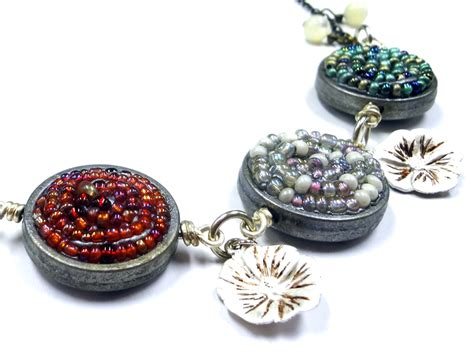 seed jewelry resin crafts seed in jewelry clay