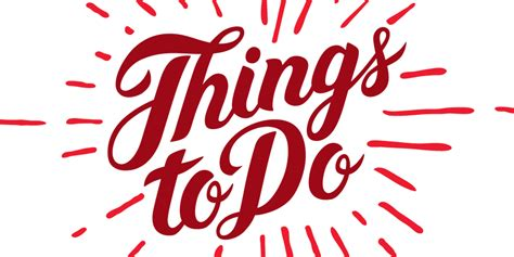 things to do with things to do in this weekend odland blair real
