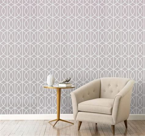 interior home wallpaper geometric and graphic wallpaper home trends of t o