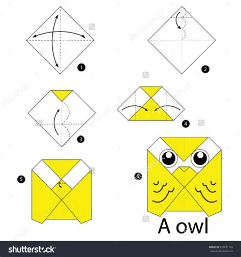 steps to make an origami free coloring pages step by step how make