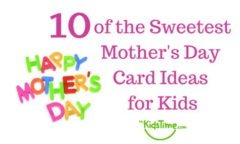 mothers day cards for toddlers to make 10 of the sweetest mothers day card ideas for