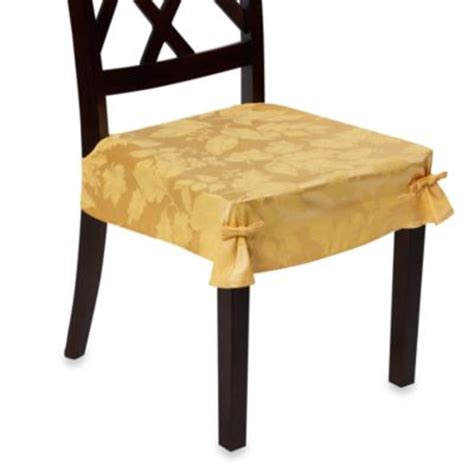 dining room seat cover buy dining chair seat covers from bed bath beyond