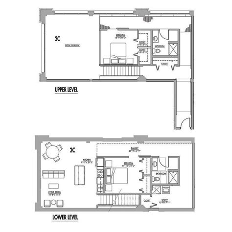 loft floor plans floor plan 2c junior house lofts