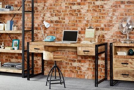 industrial style office furniture industrial style office furniture recycled wood and steel