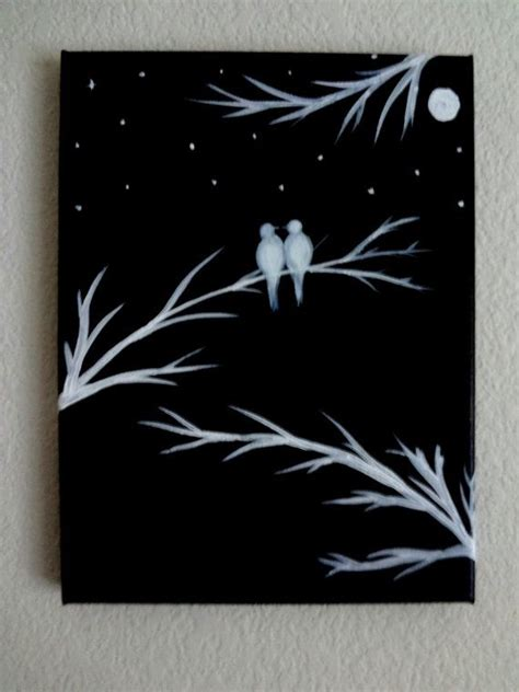 acrylic painting ideas black and white 17 best ideas about black canvas on black