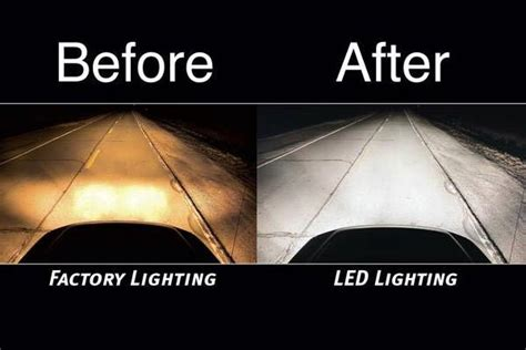 putco universal led headlight bulb conversion kit putco