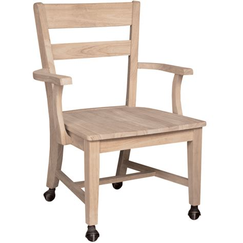 dining room chairs with casters mission dining side chair with casters