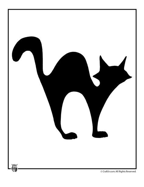 black cat halloween template woo jr kids activities