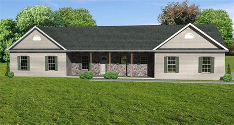ranch house plans great room ranch house plan ranch houseplan with greatroom the house plan site