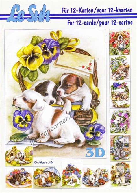 die cut decoupage books dogs a5 3d decoupage book by le suh