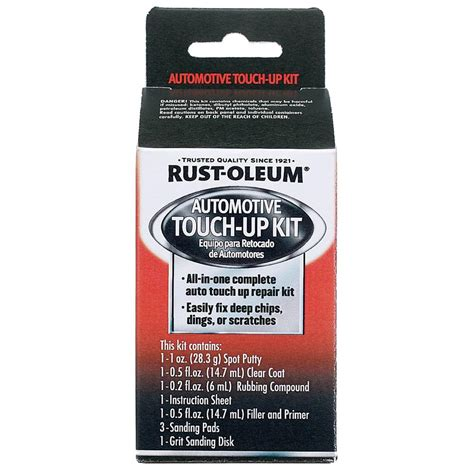 home depot paint touch up rust oleum automotive touch up kit 6 pack sc1000 the