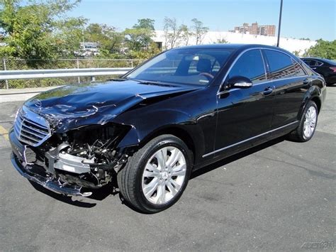 Mercedes For Sale by Luxury 2009 Mercedes S Class S550 Repairable For Sale