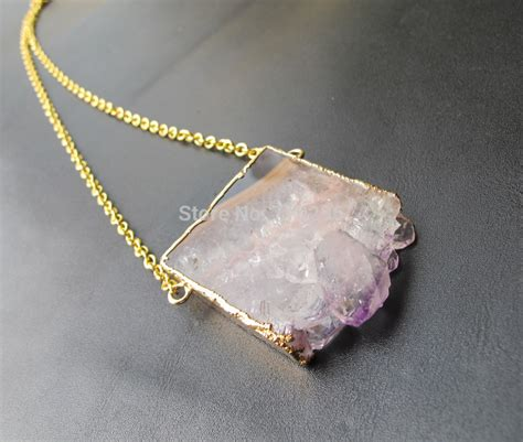 druzy stones for jewelry aliexpress buy new arrived amethyst druzy