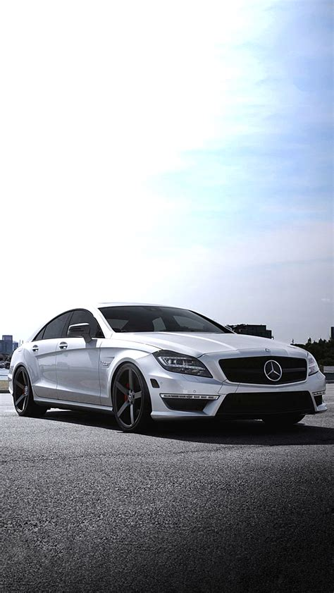 Mercedes Car Wallpaper Iphone 6s Waterfalls by White Mercedes Iphone 5 Wallpaper 640x1136