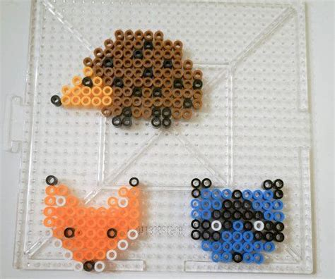 perler animals perler animals