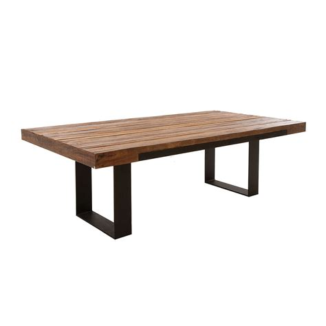 wooden tables dining chunky wooden dining tables