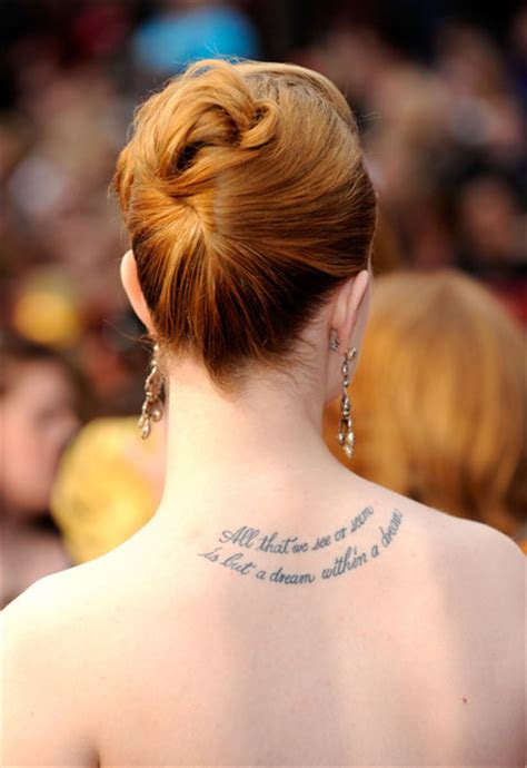 whose deep tattoo is this celebrity tattoos zimbio