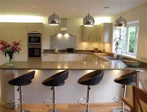 kitchen design with breakfast bar u shaped kitchen designs with breakfast bar kitchen