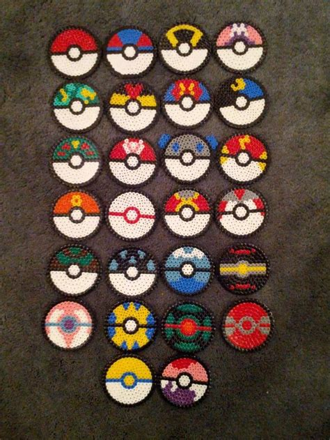 pokeball perler bead pattern best 25 perler ideas on hama