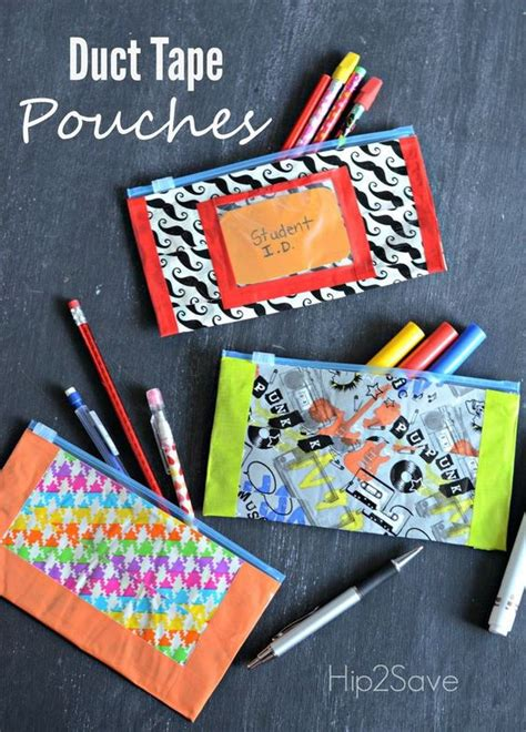 easy duct crafts for school craft pencil pouch and duct on