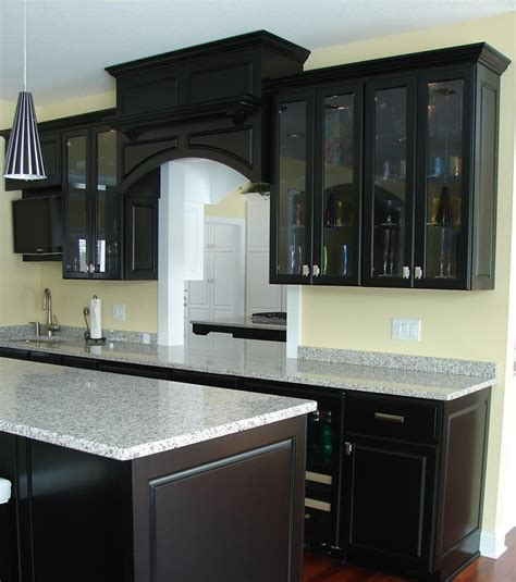 kitchens with black cabinets 23 beautiful kitchen designs with black cabinets page 3 of 5
