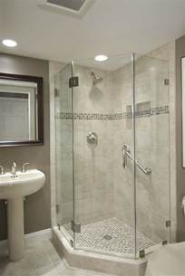 bathroom and shower best 25 glass shower walls ideas on half