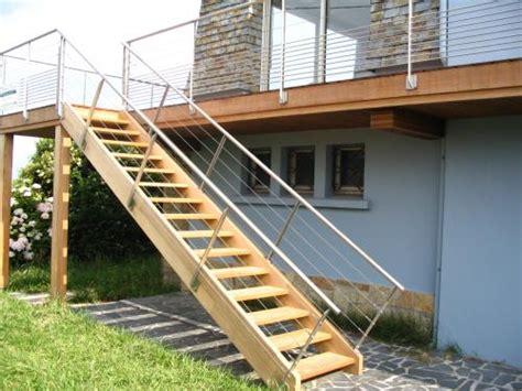 quelques notions pour bien construire escalier en bois ext 233 rieur