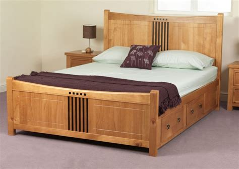 cool wooden bed frames home design vintage and modern wooden with wood bed
