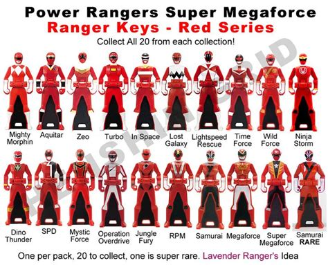 images of all the power rangers power ranger set by