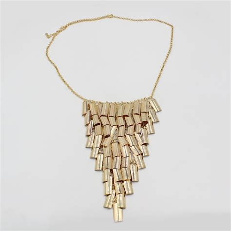 metal plates for jewelry 2016 new products pendent necklace metal plate gold plated