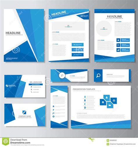 how to make presentation cards blue business brochure flyer leaflet presentation card