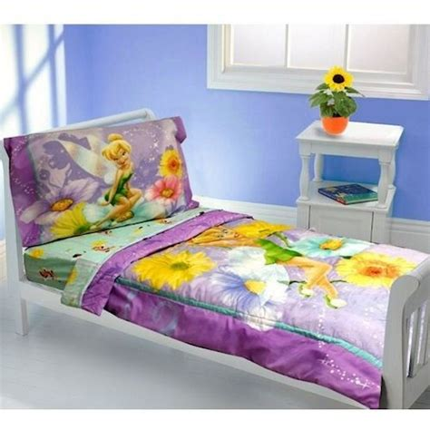 tinkerbell toddler bed set disney tinkerbell bedding set comforter sheet toddler bed