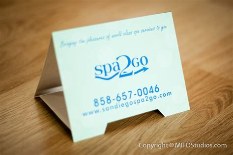 how to make a tent card table tent cards designed for spa2go mito studios mito