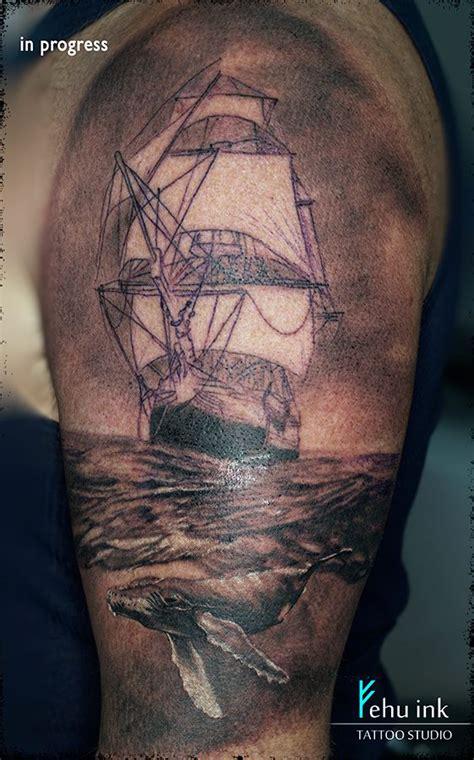 poseidon tattoo elle gottzi fehu ink fehu ink