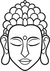 easy drawings how to draw buddha easy step by step faces free