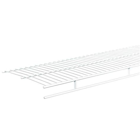 Closetmaid 3 Foot Wire Utility Shelf Closetmaid Shelf And Rod 6 Ft X 12 In Ventilated Wire