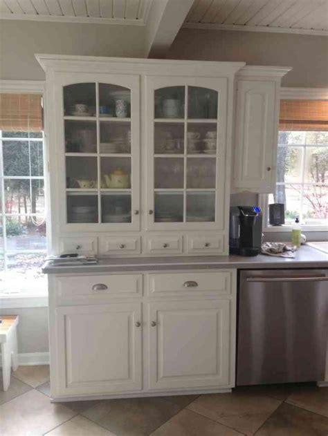 white kitchen hutch cabinet kitchen kitchen hutch cabinets for efficient and stylish
