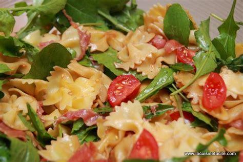 salade de farfalles 224 l italienne lacuisinefacile