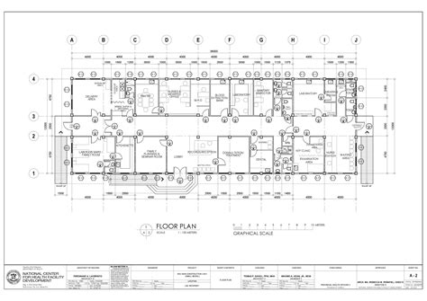 construction floor plan rhu and bhs plans amhop pangasinan chapter