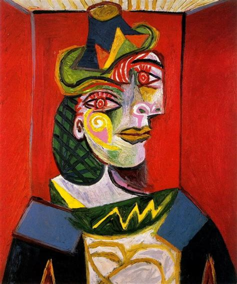 picasso paintings maar pablo picasso portrait of maar 1936